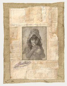 Rabbit by Aria Nadii pastel, ink, pencil, thread, on paper Mixed Media Textile Art, New Art, Museum Of Fine Arts, Mail Art, Painting, Wabi Sabi Art, Intuitive Art, Paper Art, Inspirational Artwork
