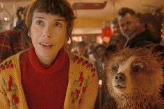 Sally Hawkins in Paddington; she looks just like my grandmother in her younger days, but with brown eyes to my grandmother's blue! Cloud Atlas 2012, The Danish Girl, Paddington Bear, Love Film, Movie Tickets, The Best Films, Good Smile, Brown Fashion, Women's Fashion