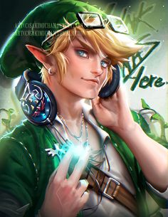 I always love link's design, but I wanted to put a fun little spin into this piece so, here he is, hipster link ! hoho PSD,Video process, High res of this piece and others will be made available...