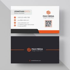 Creative Business Card Design Premium Vector Stuff To Buy