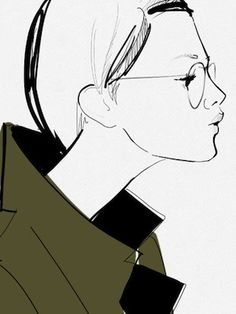 Original illustration by French Blogger, Garance Doré
