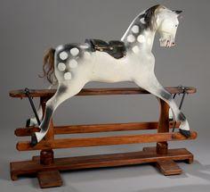 cheval a bascule anglais
