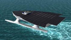 solar yacht