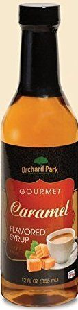 Orchard Park 12 Ounce Sugar Free Coffee Syrup, 12 Pack Case - Caramel ** You can get more details by clicking on the image.