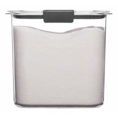Rubbermaid Brilliance 12 Cup Pantry Airtight Food Storage Container : Target