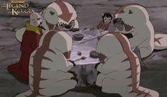 The Legend of Korra: BABY SKY BISON FAMILY DINNER!! <3