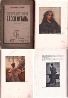 PITTURA-G.A.SACCO OYTANA PITTORE-VITA E OPERE-ILLUSTRATO IN B/N E A COLORI-L4559