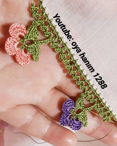 Crochet Edging Patterns, Filet Crochet, Diy And Crafts, Polymer Clay, Embroidery, Jewelry, Youtube, Instagram, Crochet Edgings