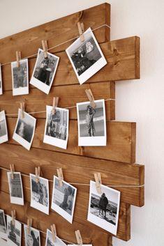Polaroid Foto, Polaroid Wall, Polaroids, Polaroid Camera, Hipster Bedroom Decor, Polaroid Display, Decoration Photo, Teen Decor, Grunge Room