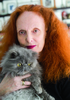 Grace Coddington's Apartment Is Filled With Cat Pillows - Fashionista
