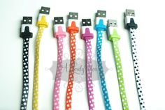 I LOVE these cute iPhone 4 and 5 chargers! You can get them on Very Jane for only $10.99!!