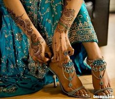 indian (wedding) style