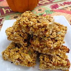 Though fall doesn't officially begin until Tuesday, pumpkin is everywhere. I am not ashamed to admit I love all things pumpkin spiced, and these pumpkin butter granola bars are no exception. ...