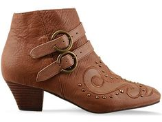Jeffrey Campbell Dino in Brown Leather