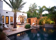 Laura Morton Spanish Colonial Outdoor Space Before and After at Home Infatuation Blog