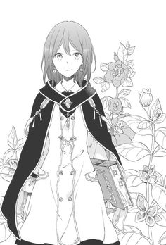 Anime/Manga: Akagami no Shirayukihime/Snow white with the red hair- Shirayuki