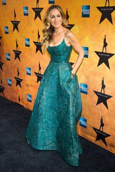 El vestido de Elie Saab Haute Couture de Sarah Jessica Parker
