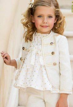 Ideas Clothes Fashion Kids Little Girls Cute Kids Fashion, Baby Girl Fashion, Look Fashion, Fashion Outfits, Fashion Clothes, Cute Little Girl Dresses, Dresses Kids Girl, Kids Outfits, Baby Girl Birthday Dress