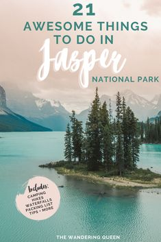 Travel dreams: 21 Awesome Things To Do in Jasper National Park - Awesome! Canada National Parks, Jasper National Park, Parks Canada, Banff National Park, Alberta National Parks, Canada Canada, Toronto, Canada Travel, Asia Travel