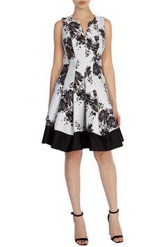 OPELLIA JACQUARD DRESS