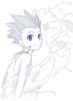 Gon Freecss ~Hunter X Hunter aww so cute :D