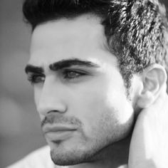 The mucho handsome Alexander Uloom inspired my character Ragab in A Thorned Rose in the Sand.