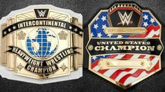 New IC And US Title Belts Are Rumored To Be On The Way Us Championship, Wrestling News, Wwe News, Professional Wrestling, Belts, Image, Life