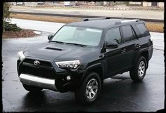 My new 2014 Toyota 4 Runner Trail Edition! All I need now are bigger tires!! Love it!