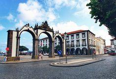 Ponta Delgada, Azores, Urban Photography, Amsterdam, Louvre, Ocean, Sky, Mansions, Architecture