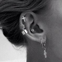 ear piercings | The Do's and Don'ts of Ear Piercings