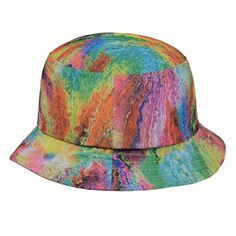 Tie Dye Painting, Gold Top, Bucket Hat, Hunting, Cap, Style Inspiration, Unisex, Outdoor, Street Styles