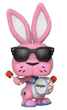 The Energizer Bunny is now available as a Funko Pop!This stylized collectible stands 3 ¾ inches tall, perfect for any Energizer Bunny fan!For Ages: Choking Hazard, Small Parts. Not for Children Under 3 Years Old