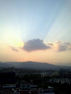 Tlalpan #cloud, #nube, #atardecer