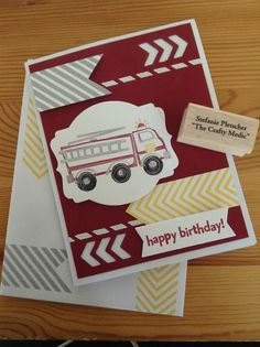 The Crafty Medic: Fire Truck Birthday
