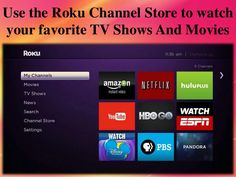 #Rokucimlink is basically a streaming device which full fill your requirement of watching online TV shows, movies, news etc.