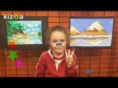 """VIDEO DE LA EXPOSICIÓN DE PINTURA DE MIS ALUMNOS DE 4 A 8 AÑOS – Vivimos el Arte en el """"Estudio de Cris"""""""