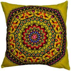 Designer decorative Folk pillow № gd409