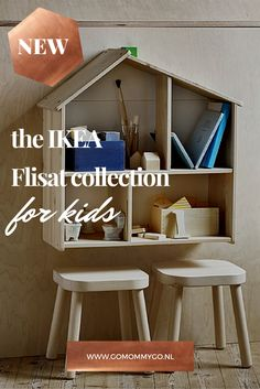 Ikea Flisat: A New Collection for Kids | Check the collection at www.gomommygo.nl