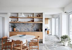 The interior design of this beach house in Australia echoes perfectly the place and concept of living – the owners come here in search of complete tranquility, to enjoy the surf in silence and breathe in the fresh coastal air. Considering this, the designers tried to make the interior spaces as light and airy as...