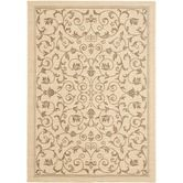 9x12 or square  Found it at Wayfair - Courtyard All Over Vine Rug