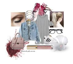"""Random look #5"" by kdmorante on Polyvore featuring Stila, Chicnova Fashion and adidas"
