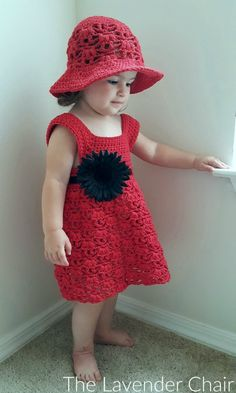 Weeping Willow Toddler Dress Crochet Pattern - The Lavender Chair
