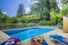 Villa Melina is a beautiful 2 bedroom villa with private pool, wifi, Pool heat, air con. Corfu Greece, Villa With Private Pool, Heated Pool, Places To Visit, Outdoor Decor, Beautiful, Home, House, Ad Home