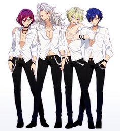 Cute Anime Boy, Anime Guys, Boy Poses, Star Art, Ensemble Stars, Boy Art, Hot Boys, Pretty Boys, Cosplay Costumes