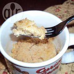 Mikrowellenkuchen ohne Ei @ de.allrecipes.com