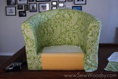Find out that DIY reupholstery is not so intimidating after all.