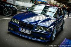 BMW E36 3 series blue