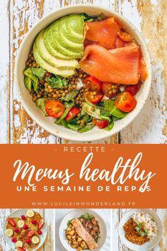 Menus Healthy, Healthy Diners, Healthy Breakfast Recipes, Healthy Cooking, Healthy Dinner Recipes, Healthy Eating, Plats Healthy, Bolo Fit, Batch Cooking