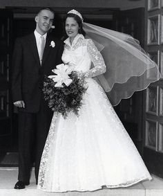 portrait wedding dress 1950 - Google Search