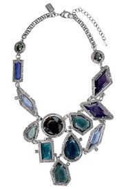 Blue Ice Crystal Bib